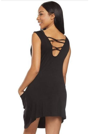 J.Valdi Luxe Jersey Cover Up Dress