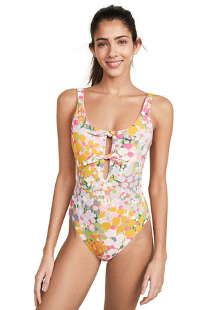 Kate Spade Floral Dot Reversible One Piece