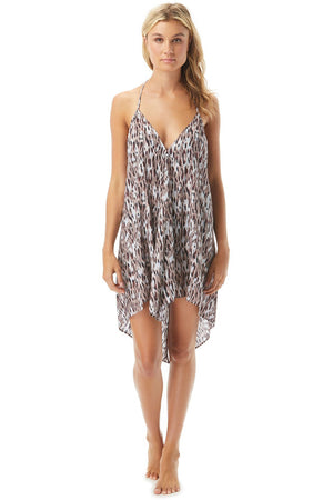 Vince Camuto Convertible Cover Up Dress - Feline