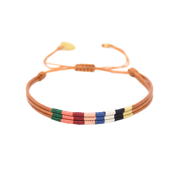 Mishky - Afrika 3.0 Bracelet With Color Blocked Palate