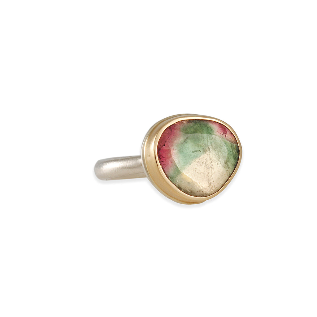 Jamie Joseph - Watermelon Tourmaline Ring