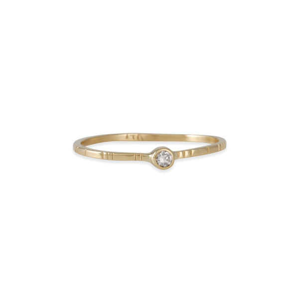 Young in the Mountains - Blanco Modelo Diamond Ring