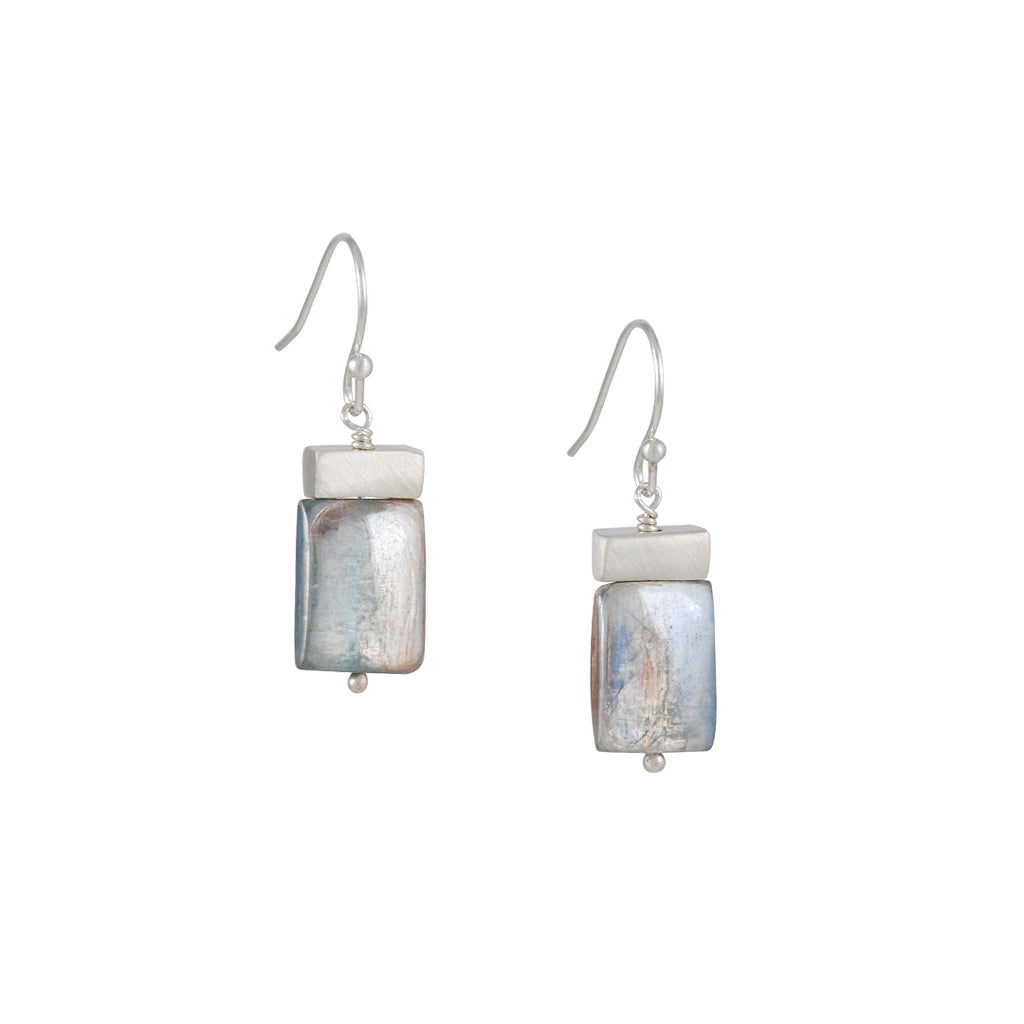 Philippa Roberts - Tab with Kyanite Earrings