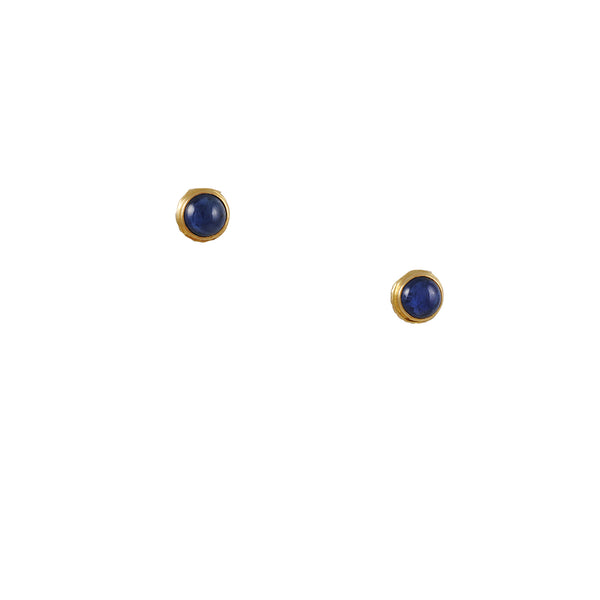 Steven Battelle - Sapphire Stud Earrings