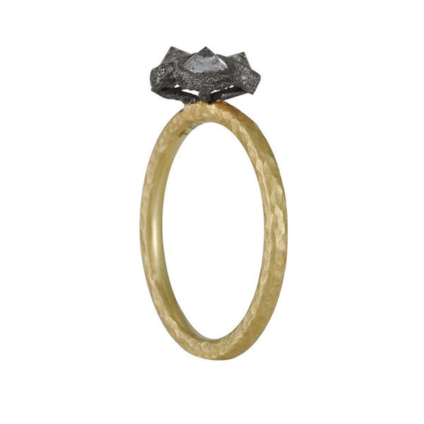 TAP by Todd Pownell - Inverted Diamond Trio Ring