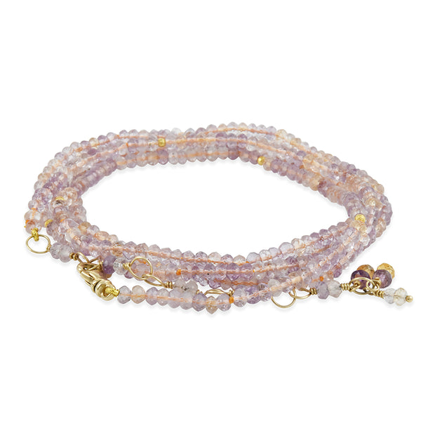 Hill House - Ametrine Wrap Bracelet and Necklace