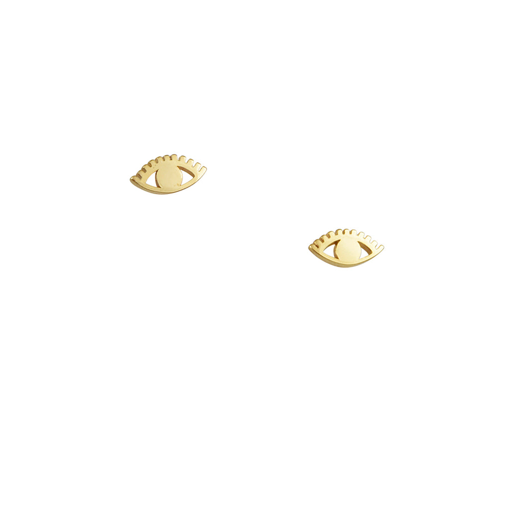 Kris Nations - Eye Stud Earrings