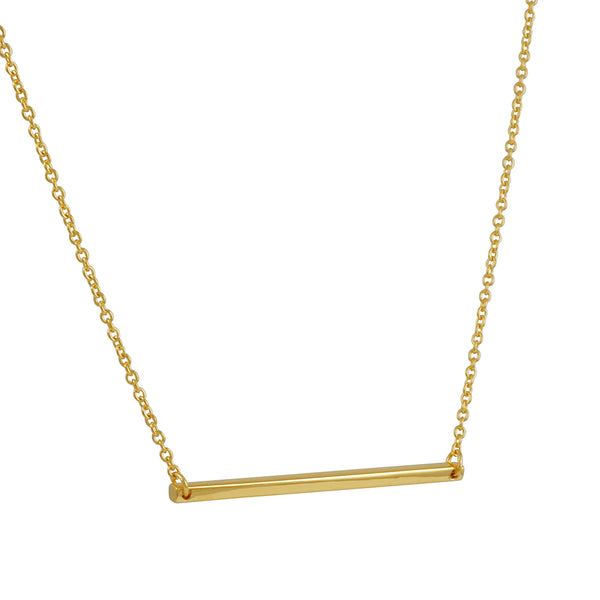 Tashi - Horizontal Bar Necklace