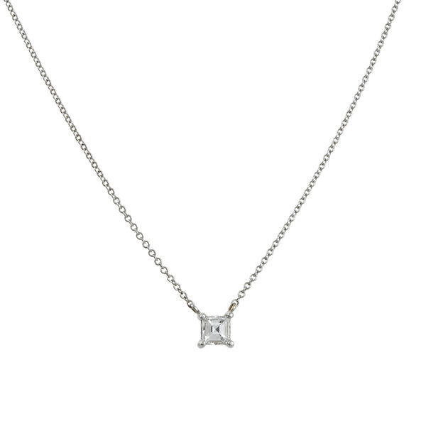 CP Collections - Princess Cut Diamond Pendant