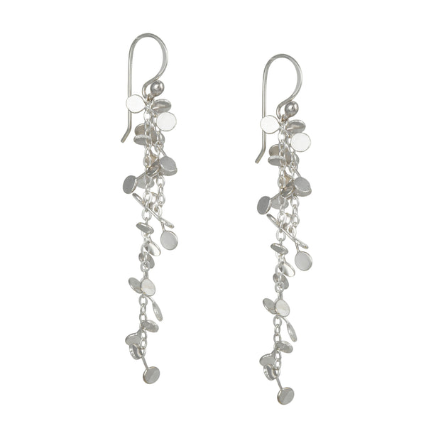 Zuzko Jewelry - Coined Earrings in Bright Sterling Silver