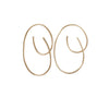 8.6.4 - Medium Swirl Hoops in Goldfill