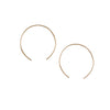 8.6.4 - Open Hoop Earrings in Goldfill