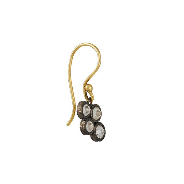 TAP by Todd Pownell - Four Diamond Drop Earrings