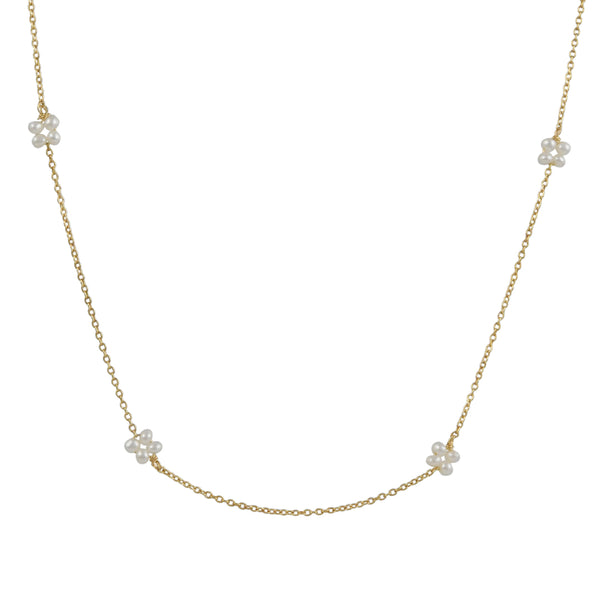 Christina Stankard - Pearl Blossom Necklace