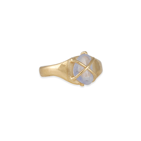 Atelier Narcé - Organic One of a Kind Sapphire Ring