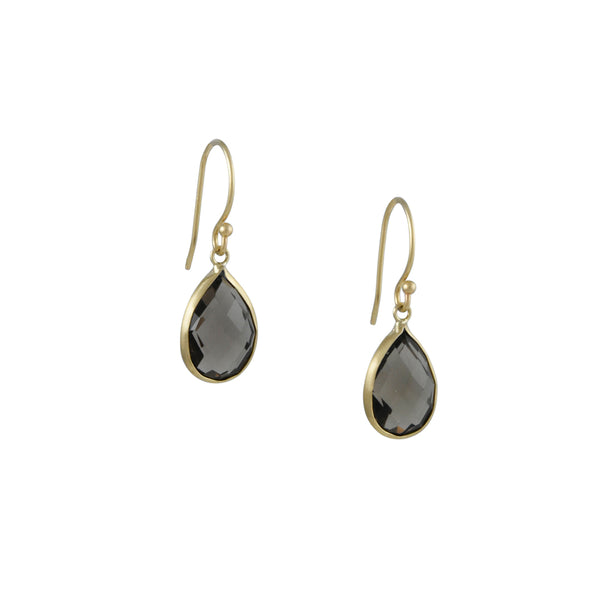 Margaret Solow - Smokey Quartz Earrings
