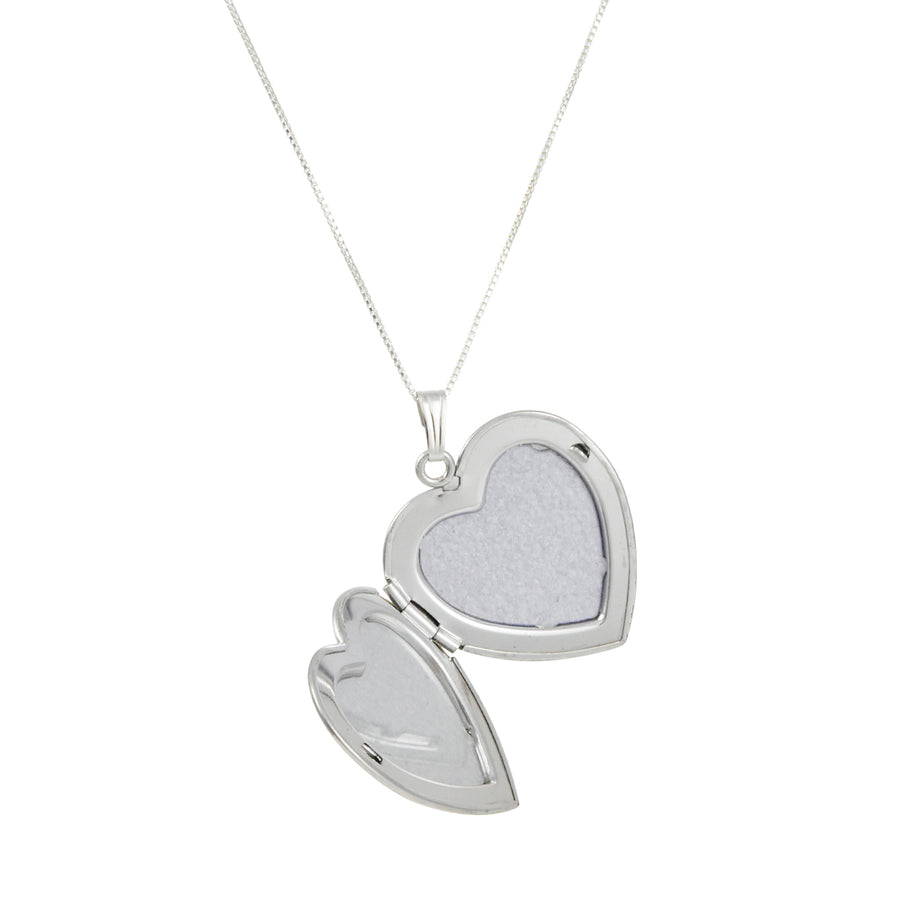 CP Collection - Heart Locket with Diamond