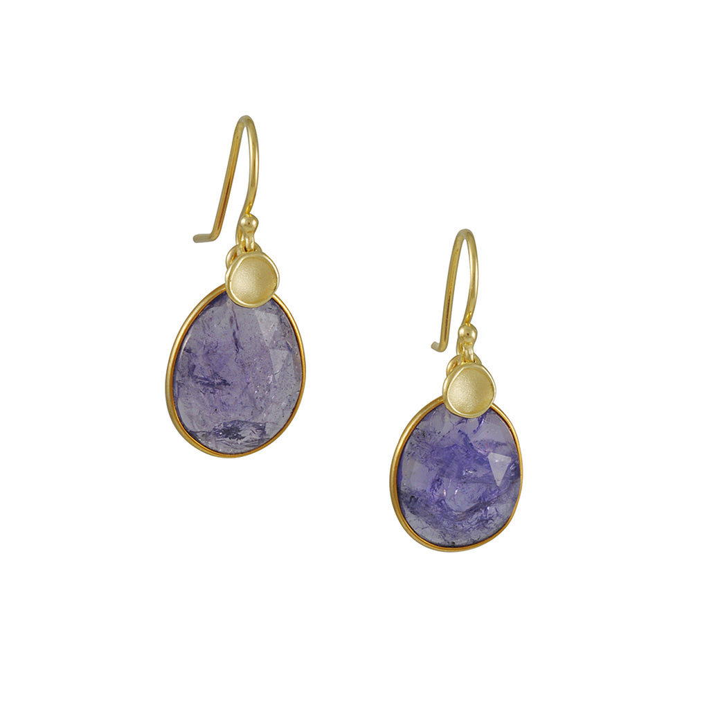 Sarah Richardson - Tanzanite with Pod Earrings