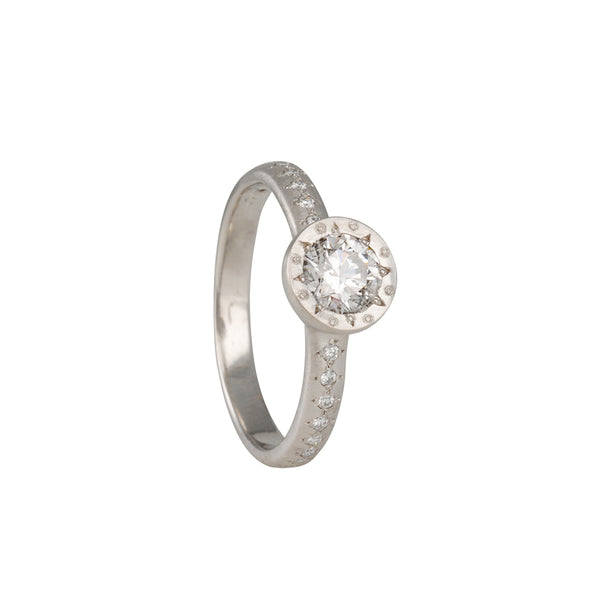 ADEL CHEFRIDI- Succession Solitaire with Lab Grown Diamond