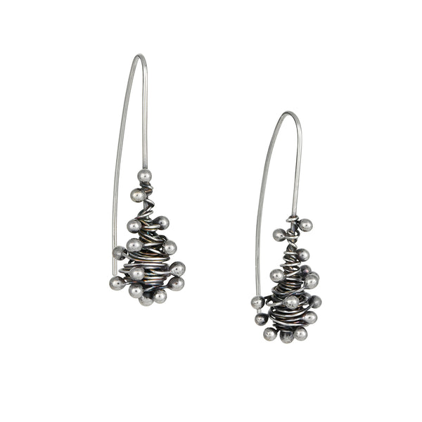 Zuzko Jewelry - Swarm Earrings in Sterling Silver