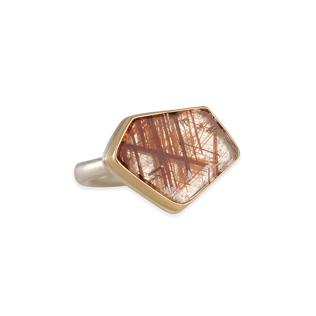 Jamie Joseph - Rutiliated Quartz Ring