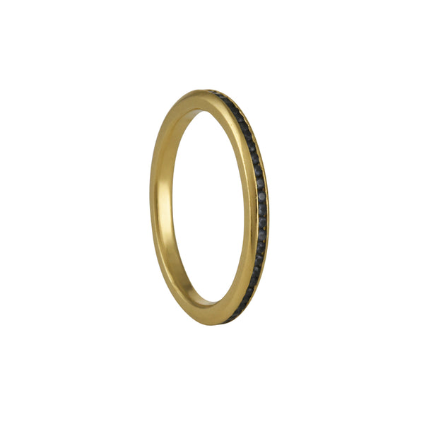Tura Sugden - Channel Set Sapphire Eternity Band in 18K Gold