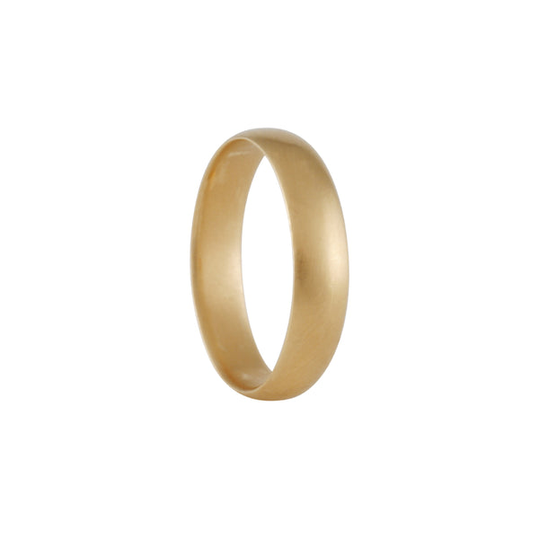 Carla Caruso - Sleek Half Round Band