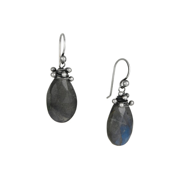 Zuzko - Labradorite Swarm Earrings in Sterling Silver