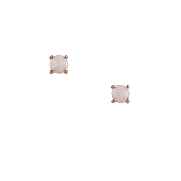 CP Collection - 6mm Opal Prong Set Studs