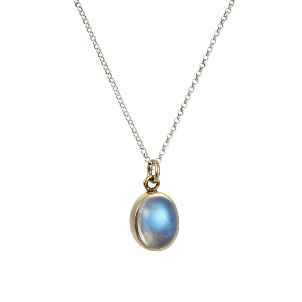 Halcyon - Mesa Pendant Necklace With Blue Moonstone