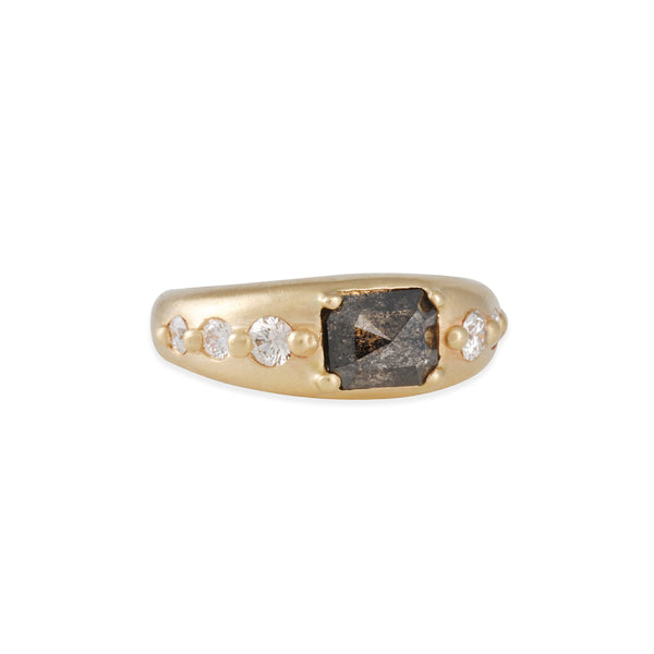 Rebecca Overmann - Black Diamond Ring
