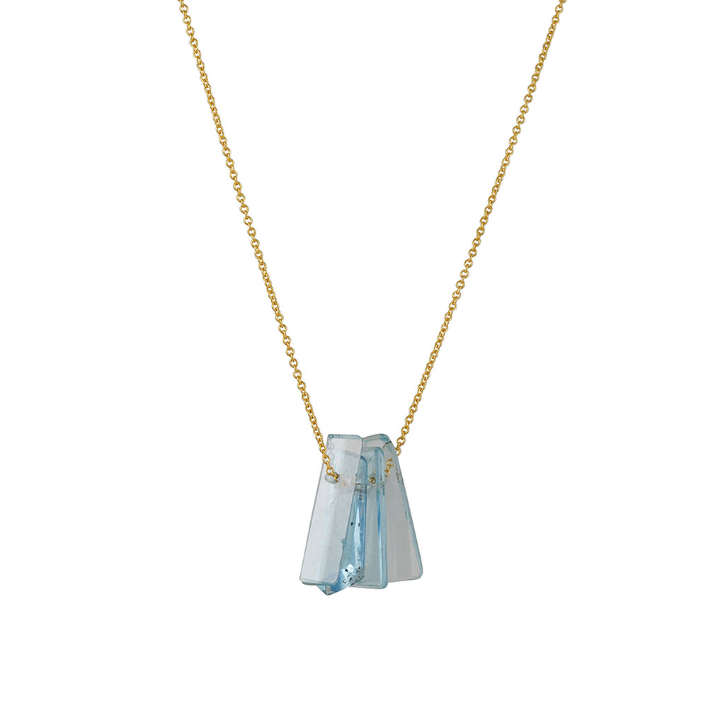 Margaret Solow - Aquamarine Necklace
