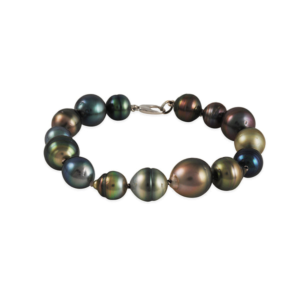 Hill House - Multi-Color Tahitian Pearl Bracelet