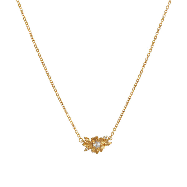 Megan Thorne - Buttercup Kaye with Rosecut Diamond Necklace