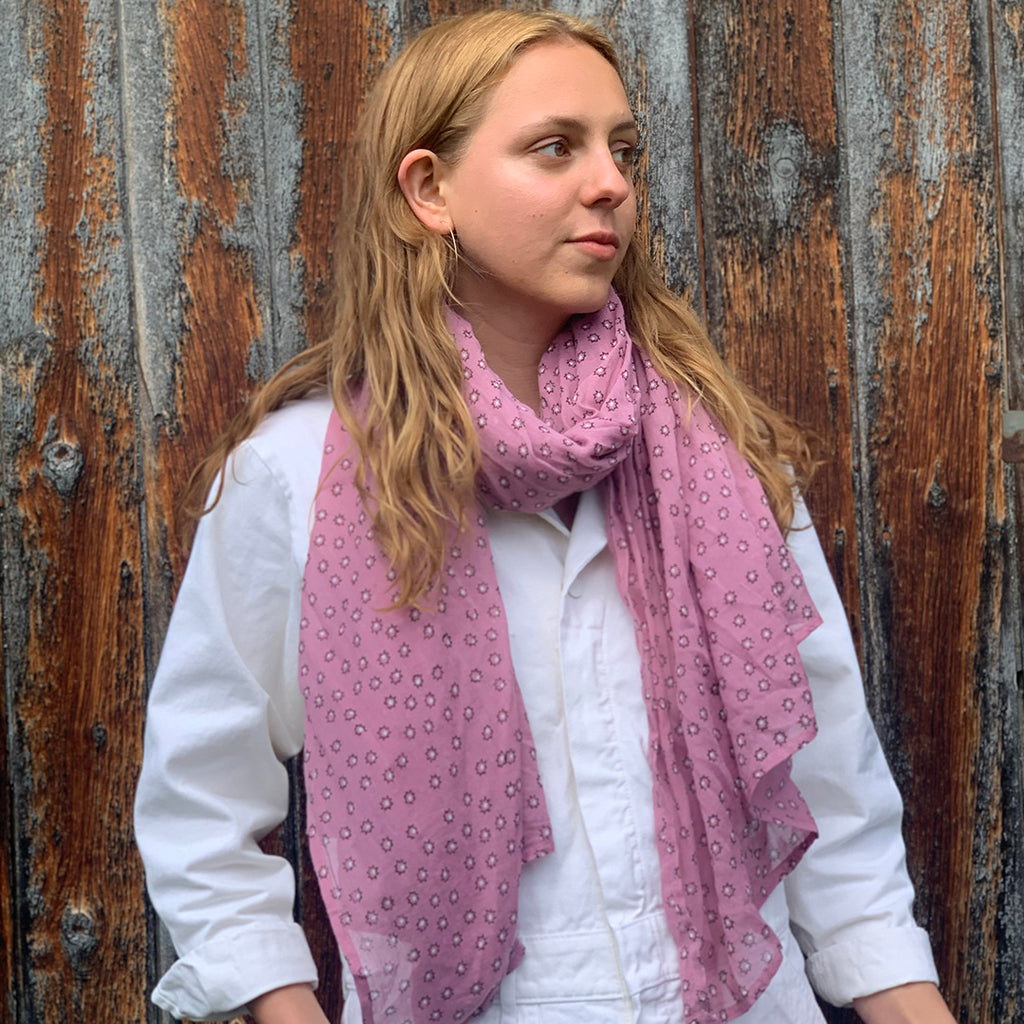 Gray Market Designs- Massa Rose Scarf