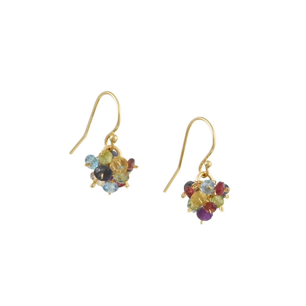 Christina Stankard - Gemstone Cluster Earrings