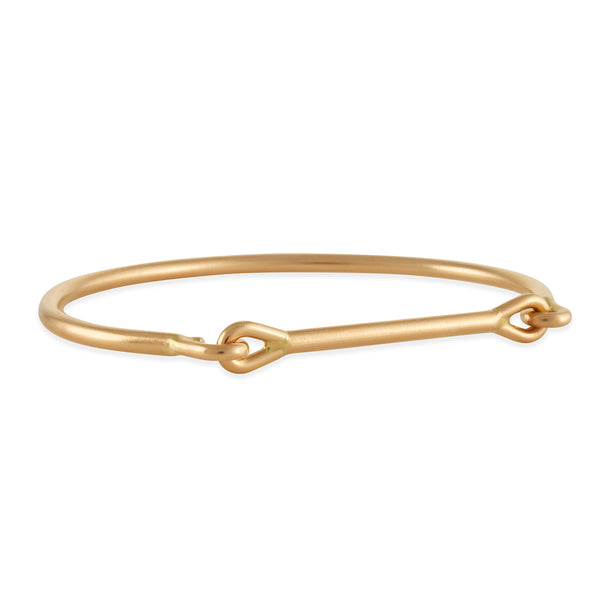 Tura Sugden - Heavy Weight Needle Eye Cuff in 18K Rose Gold