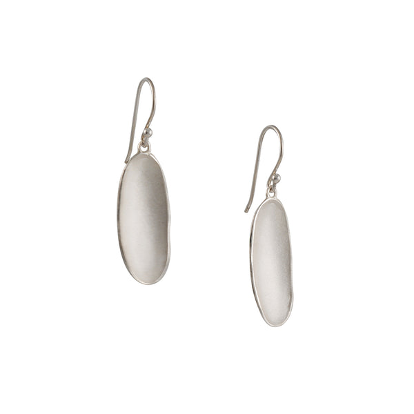 Sarah Richardson - Large River Drop Earrings in Sterling Silver
