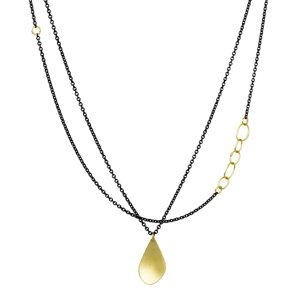 Sarah McGuire - Sway Necklace with 18k gold accents