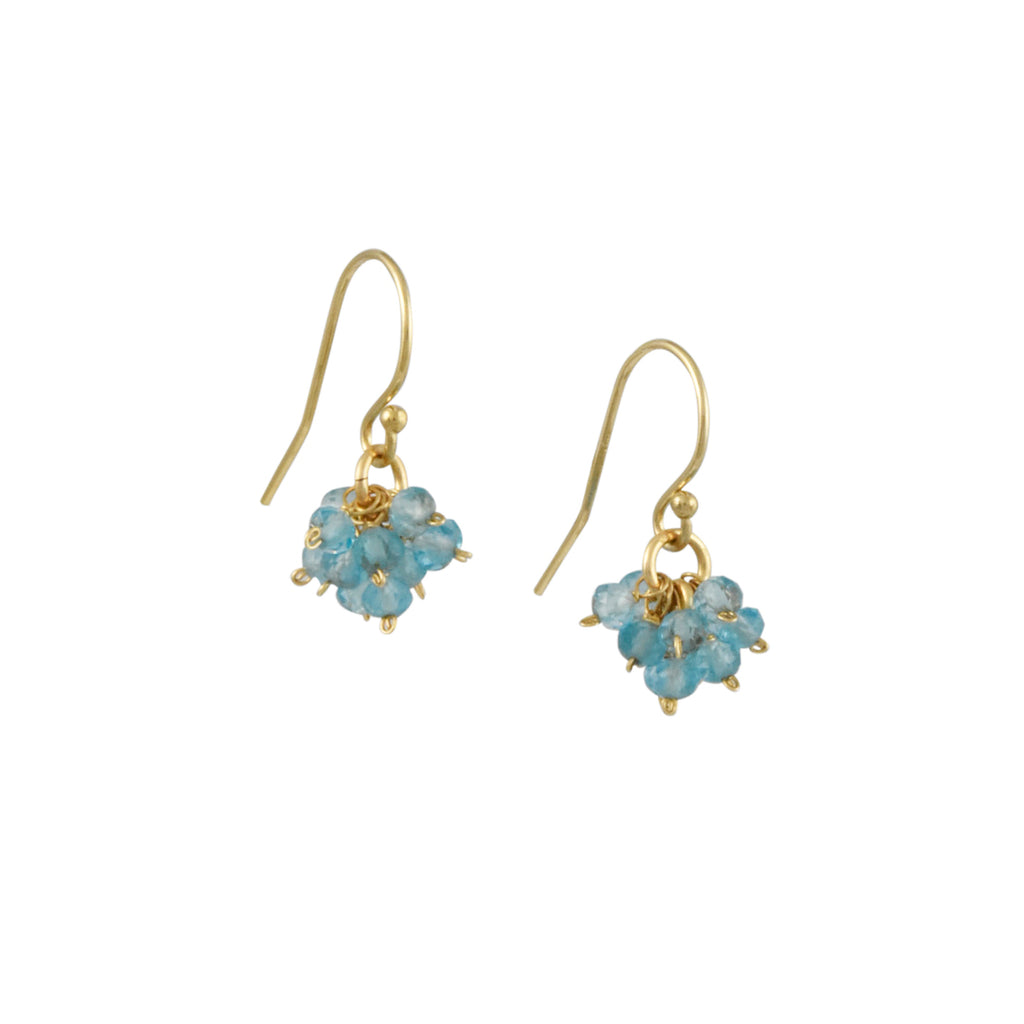 Christina Stankard - Apatite Cluster Earrings