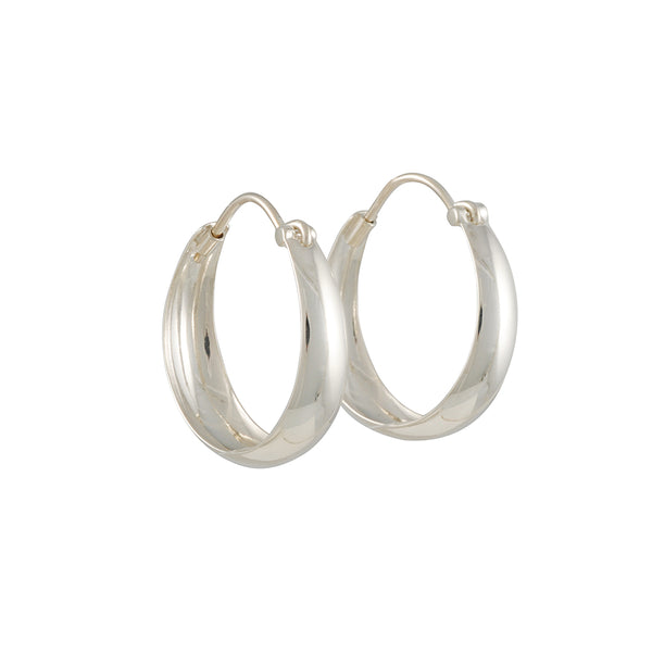 Tashi - Medium Tapered Hoops