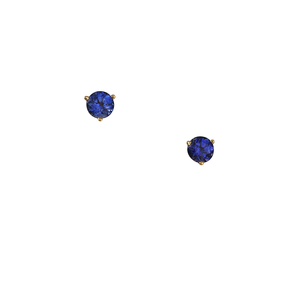 CP Collection - 5mm Sapphire Studs
