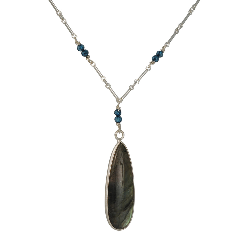 Phillipa Roberts - Labradorite and Apatite Necklace