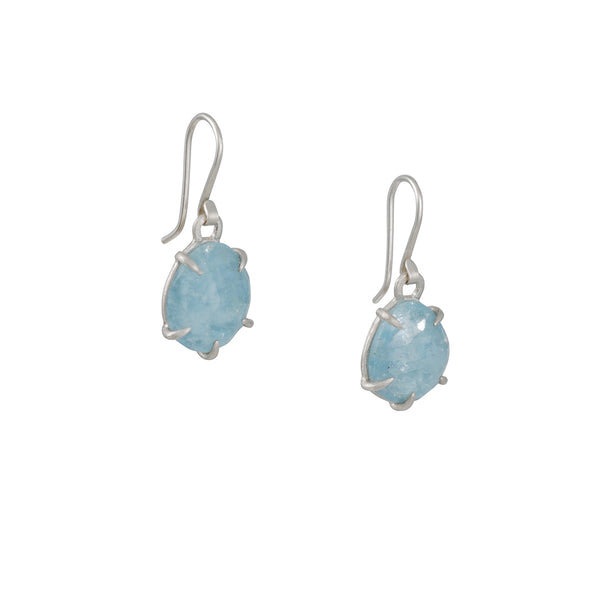 Hannah Blount - Vanity Aquamarine Drop Earrings