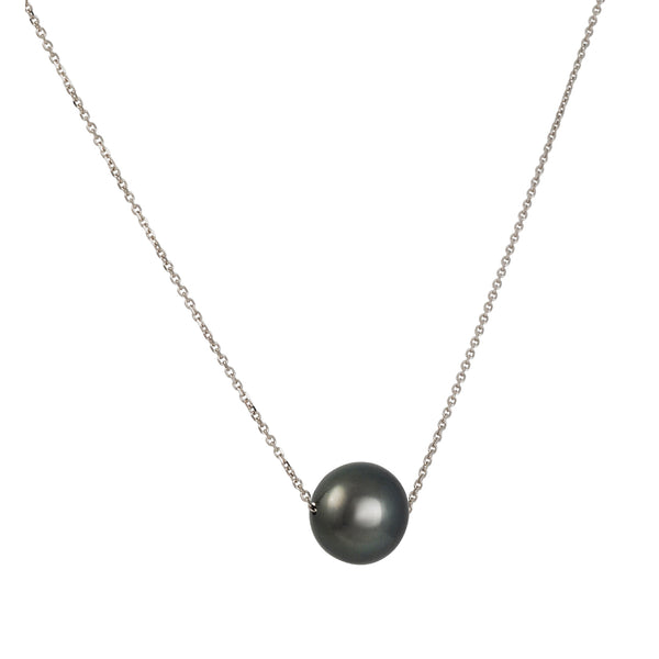 CP Collection - South Sea Black Tahitian Pearl Pendant Necklace