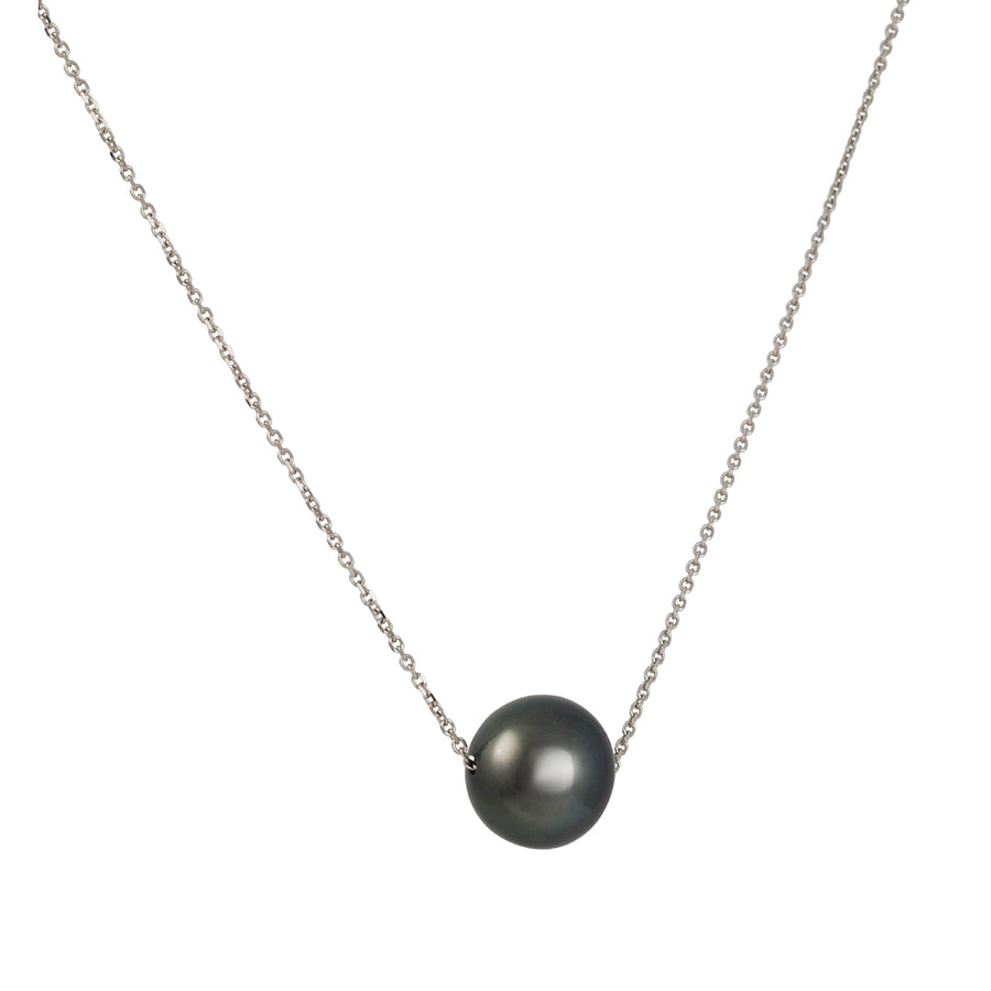 SALE - South Sea Black Tahitian Pearl Pendant Necklace