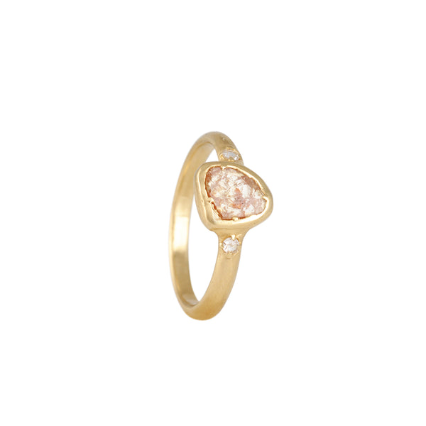 Atelier Narcé - Organic Rose Cut Diamond Ring
