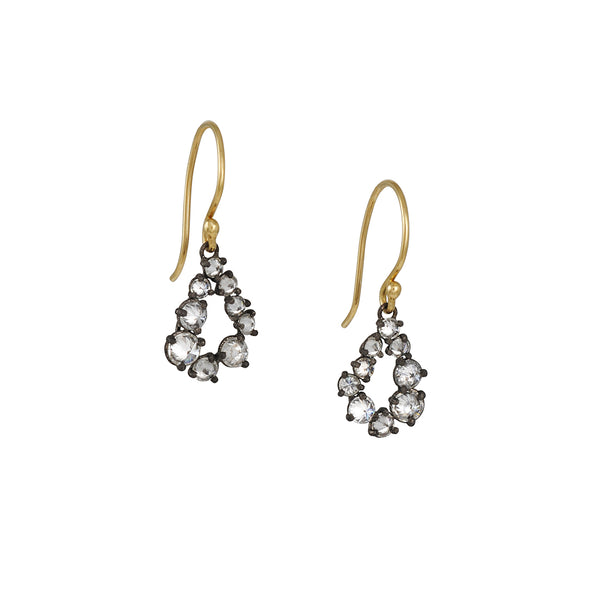 TAP by Todd Pownell -  Diamond Teardrop Earrings