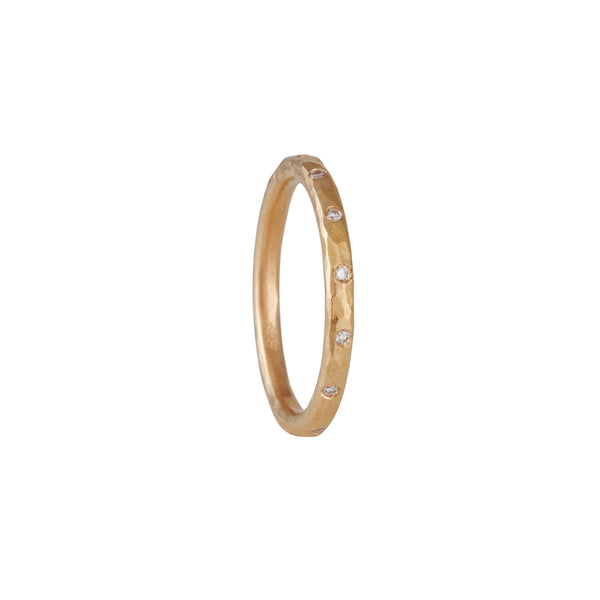 ANNIE FENSTERSTOCK - Half Sparkle Round Band