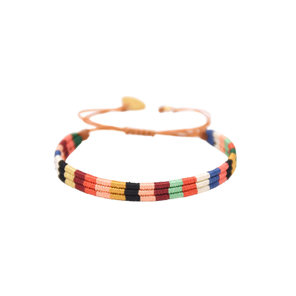 Mishky - Afrika 5.0 Bracelet With Color Blocked Palate